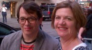 Denise Pugh with Matthew Broderick (Wicked May 2012)