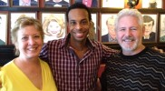 March 2013 – Russ & Judy Latherow with Lawrence Stallings of BOM